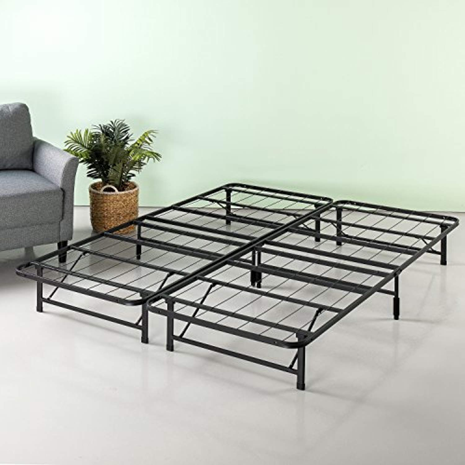 Zinus 10 Inch Smartbase Mattress Foundation Platform Bed Frame