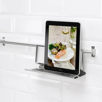 Organiseurs Muraux Cuisine Ikea En 2020 Support Tablette Stand De Tablette Ikea