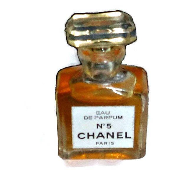 2fcffbd13d3a75 80's CHANEL No 5 Mini Perfume Bottle UNUSED Vintage MINIATURE Designer  Fragrance Collectible Eau de Parfum Glass Bottle Crystal Lid Paris (60 CAD)  found on ...