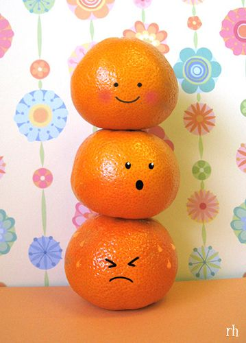 Qual laranja você é? hahaha :)