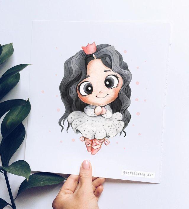 رسومات لطيفة جدا Dessin Kawaii Art Dessin Dessins Disney Faciles