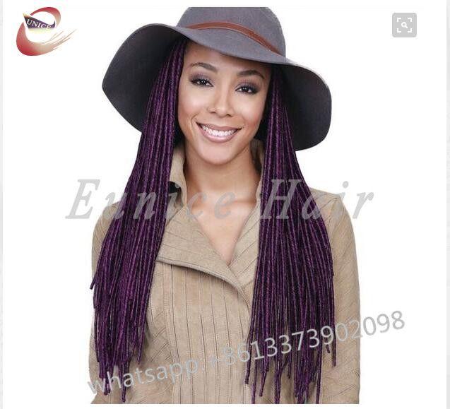 14roots/Piece LOCS Crochet Braids Black Best Hair Extensions,Cheap Synthetic Single FAUX LOCKS Braiding Hair Free Shipping