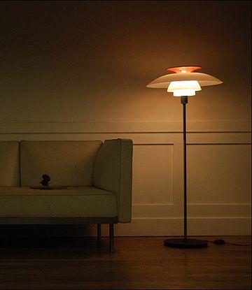 Luxury Life【Louis Poulsen PH 80 Floor Lamp 立燈,Poul Henningsen - schöne schlafzimmer farben