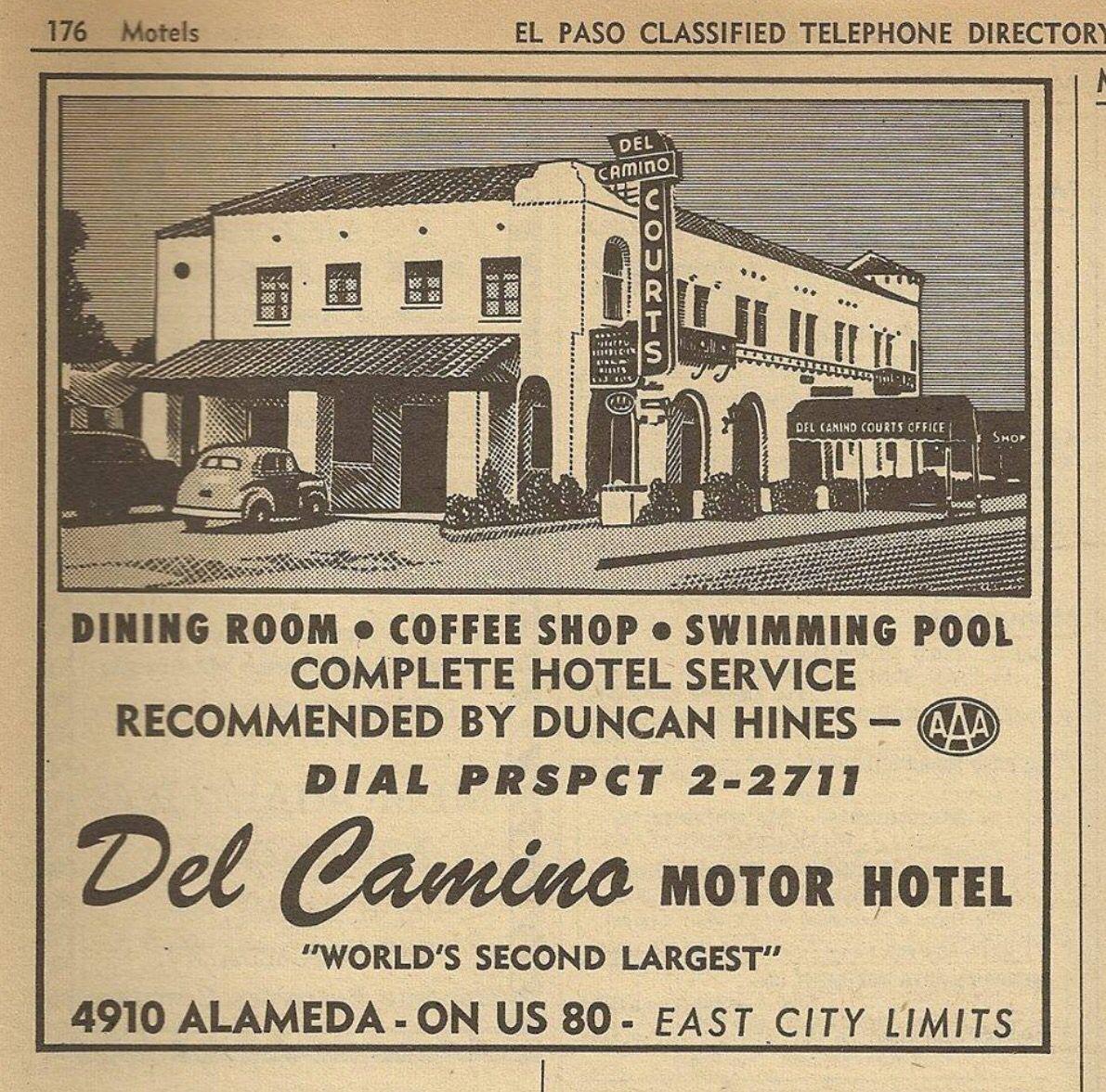 Del Camino Hotel World Hotel Services Roadside Attractions