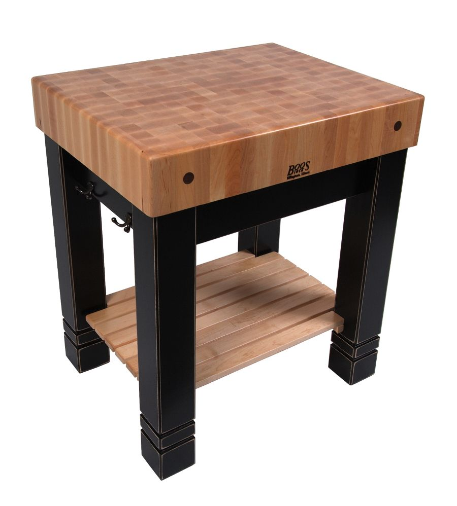 John Boos Butlers Block Traditional Butcher Block 1 200 4x4 Legs I Ll Have To Use 2x6 Instead Butcher Block Tables Butcher Block Kitchen Boos Butcher Block