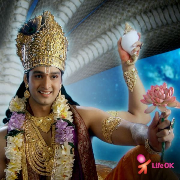 Lord Vishnu in LifeOK's popular show Mahadev