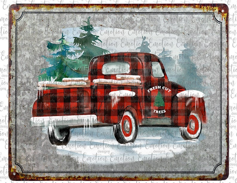26++ Old christmas truck clipart ideas in 2021