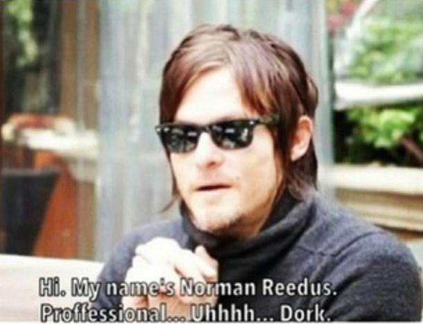 Norman Reedus Professional Dork Mo3 The Main Reason I Love Him 3 3 3 Norman Reedus Norman The Walking Dead Daryl Dixon