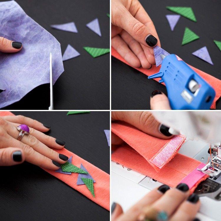 Baby Haarband selber machen \u2013 Ideen mit Anleitung Dekoration - cortenstahl innenbereich ideen