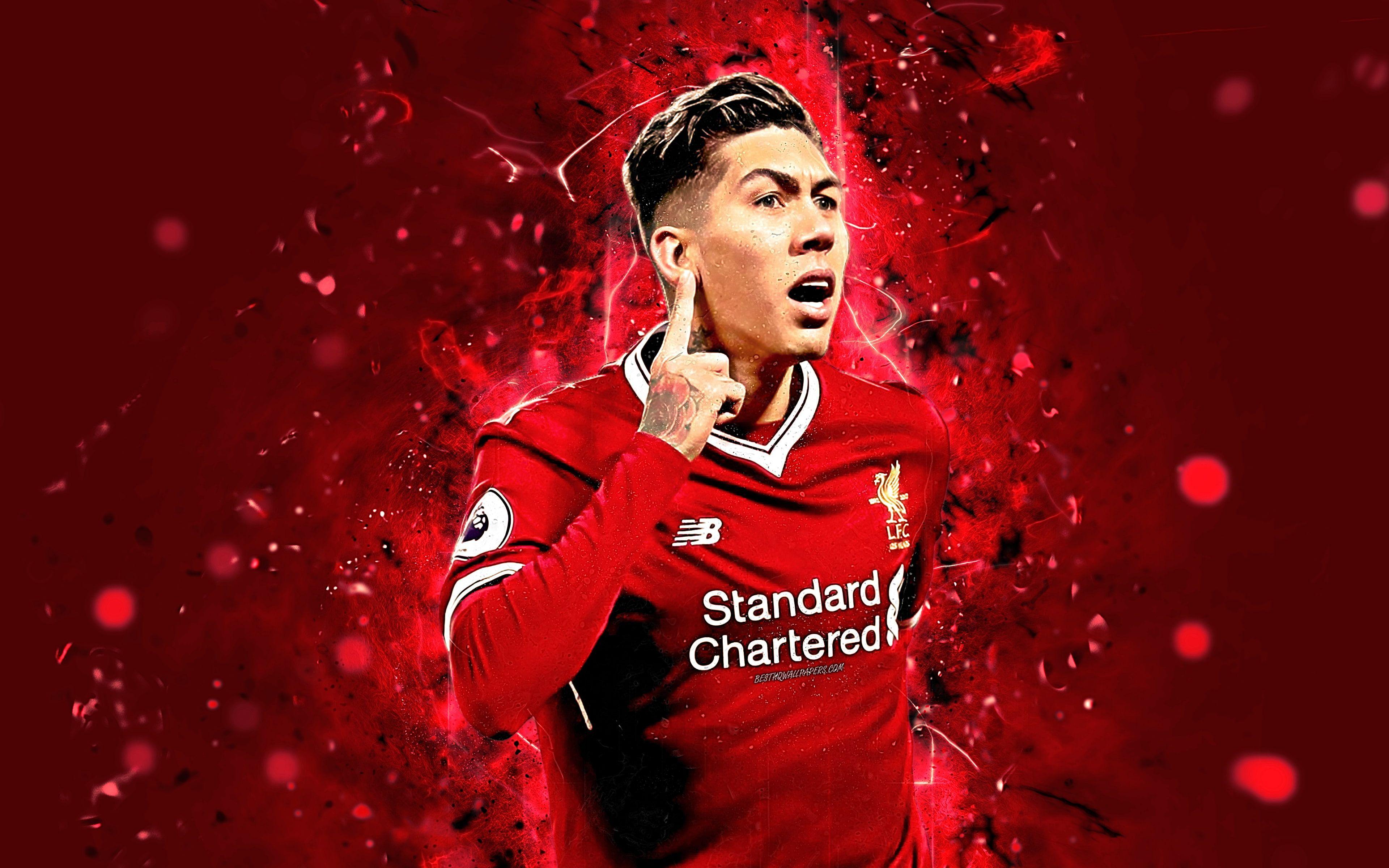 #Soccer Roberto Firmino #Brazilian Liverpool F.C. #4K