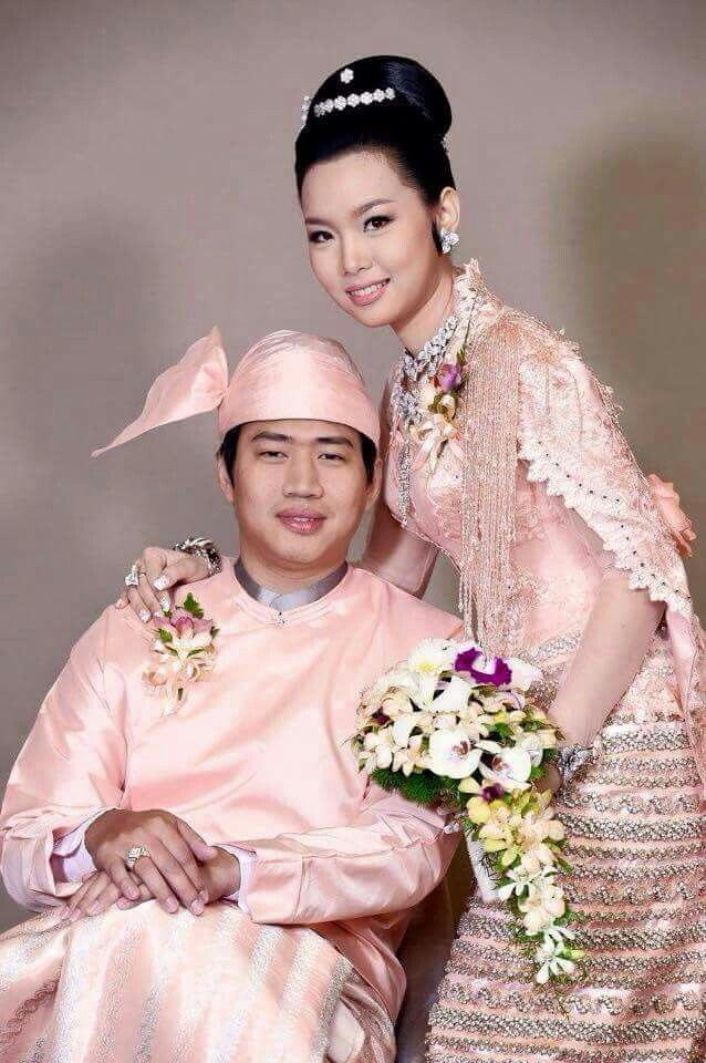 Myanmar Wedding Dress | Myanmar Wedding Dress | Pinterest | Fashion