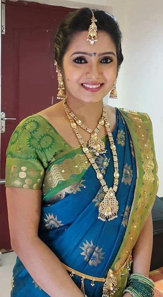 Srithika  Tv Serial Actressanchorsnews Readers  Indian -5942
