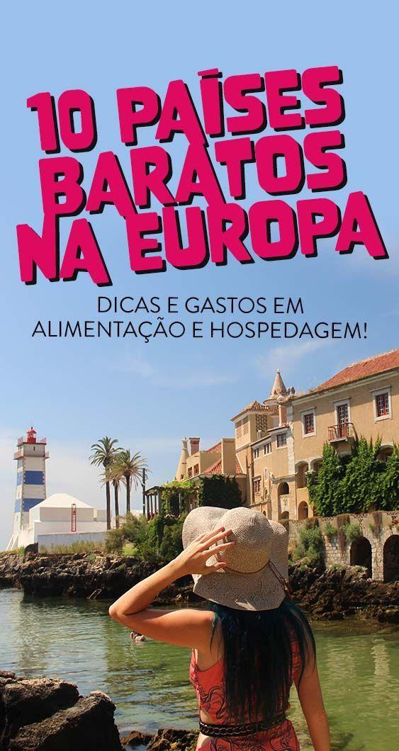 10 PAÍSES BARATOS na Europa para visitar ainda este ano!