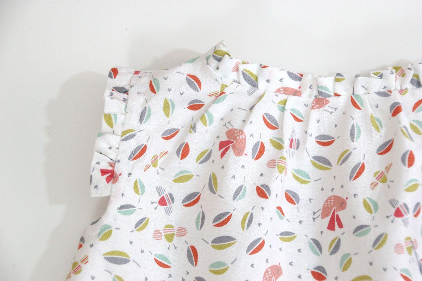 DIY Costura: Blusa para bebés (Tutorial y patrones gratis) | | Oh ...