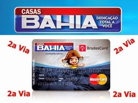 Fatura Cartao Casas Bahia Com Imagens Bahia