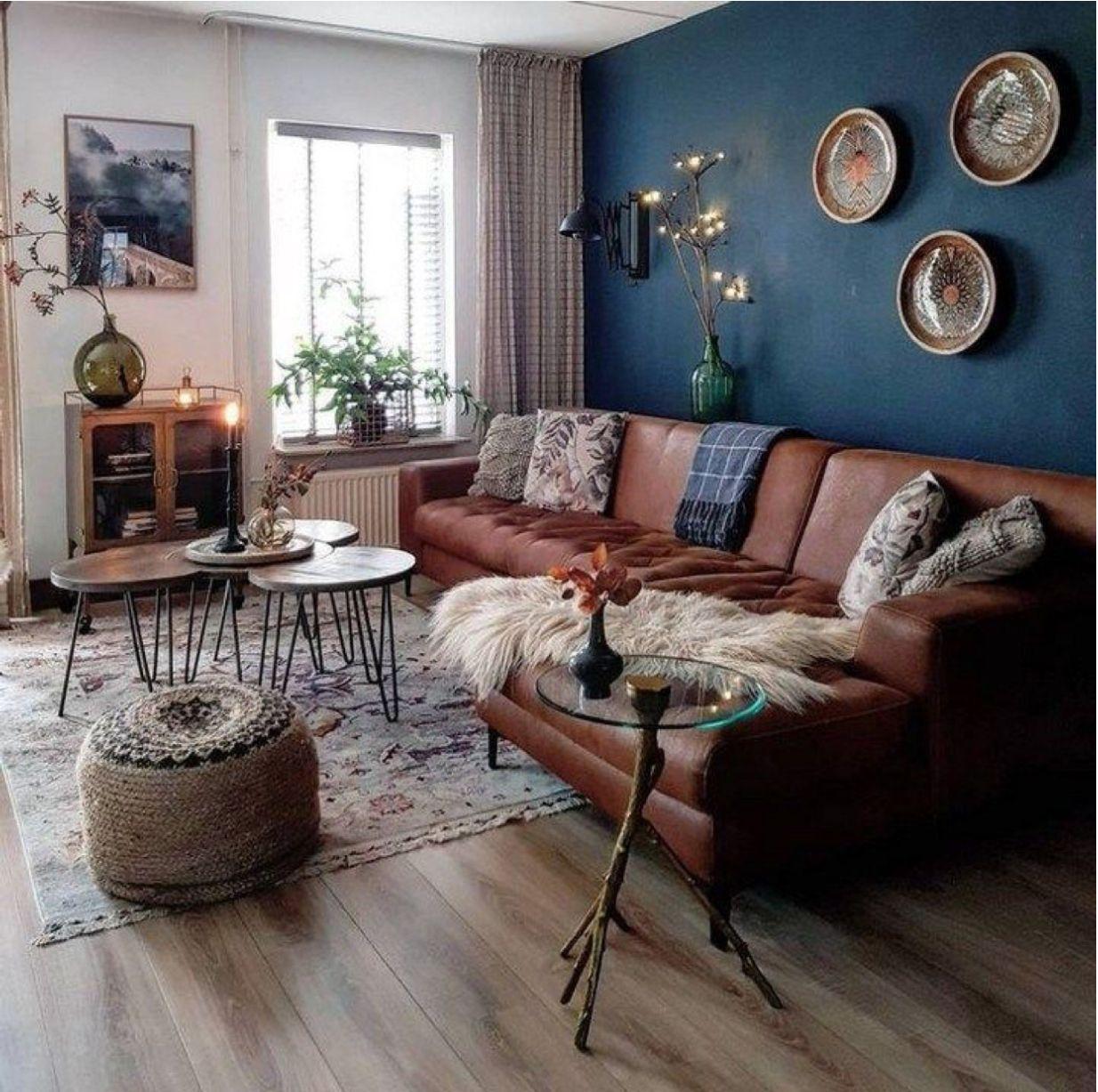 pinps23 on living room  modern bohemian living room