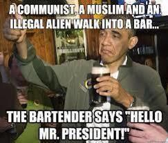 a communist a muslim and an illegal alien walk into a bar A Communist, a Muslim and an Illegal Alien Walk into a Bar..