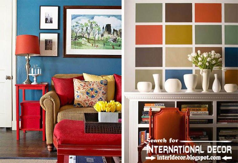 best color combinations and color schemes in the interior 2015