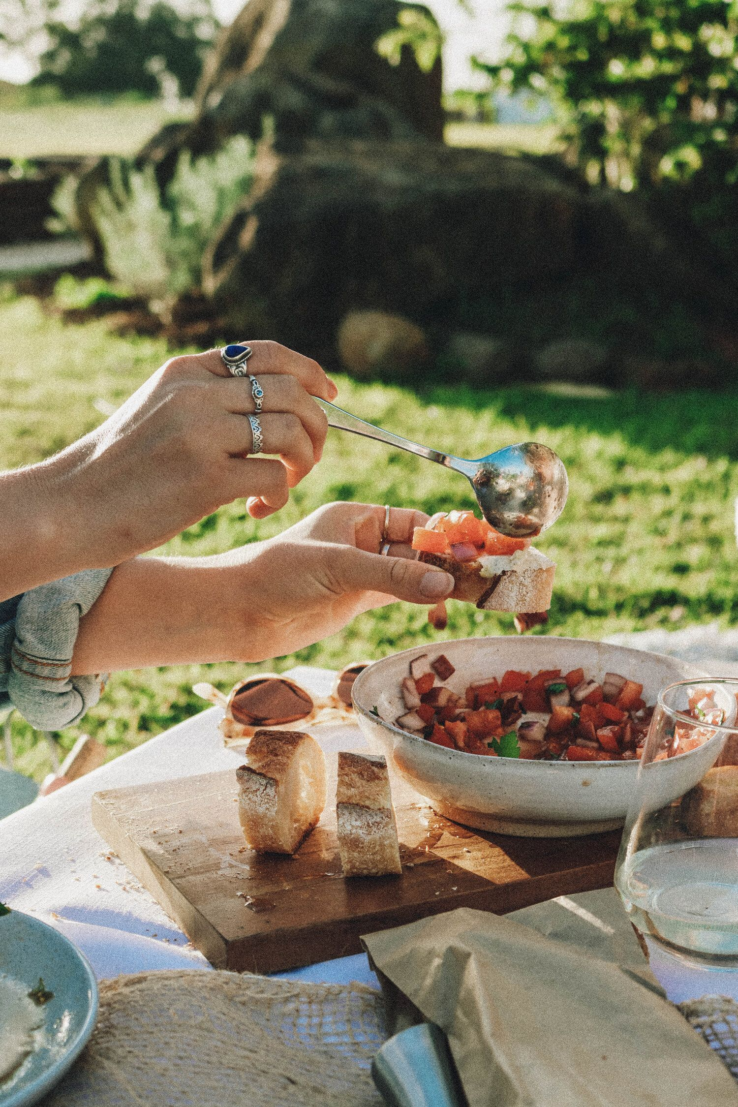 Iced Cacao Amanda Ducks Sun Dried Tomato Delicious Vegan Recipes Tomato Bruschetta