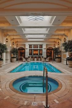 The mansion at mgm grand indoor pool mansions pinterest mansions vegas and las vegas for Indoor swimming pools in las vegas