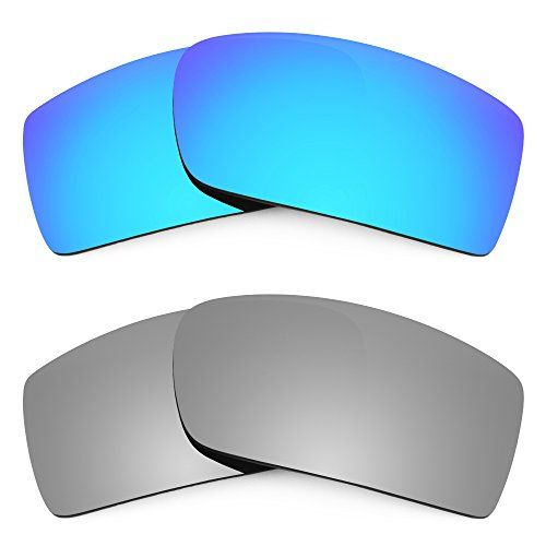 Revant Replacement Lenses for Oakley Gascan Polarized Ice Blue & Titanium