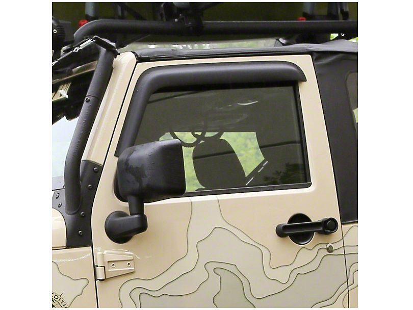 Rugged Ridge Wrangler Window Visors Matte Black 11349 11 07 16 Wrangler Jk 2 Door Free Shipping Jeep Wrangler Jeep Wrangler Jk Jeep Wrangler Interior