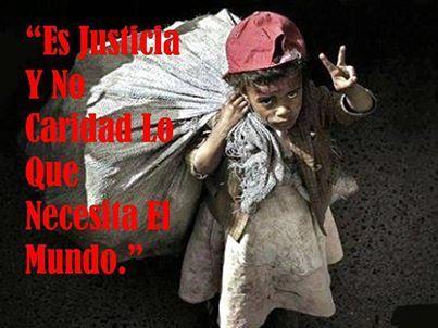#MASJusticiaSocial Es justicia y no caridad lo que necesita el mundo - Mary Wollstonecraft - 20F - Día de la Justicia Social