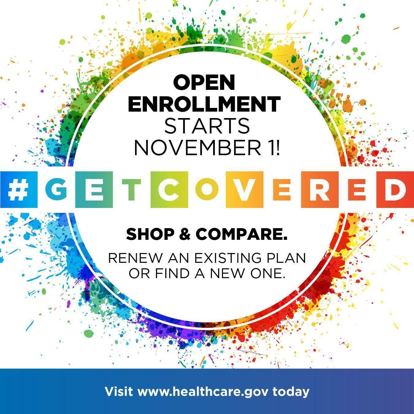 In Washington State the open enrollment period for health
