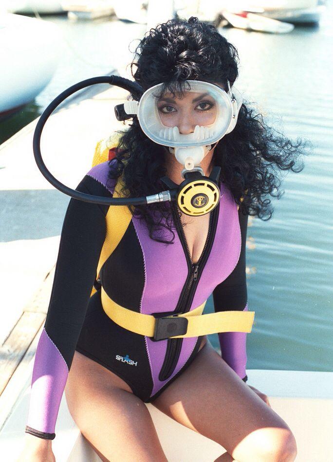 Sexy teen in wetsuit