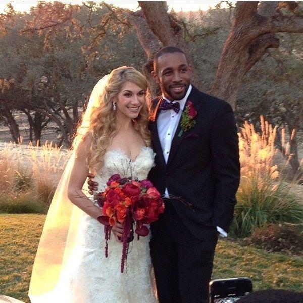 Allison holker wedding pictures
