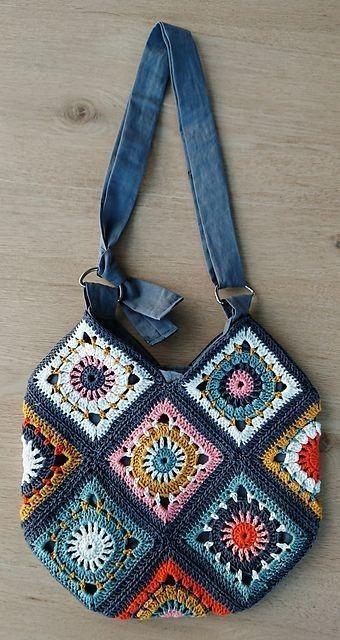 Photo of Linda bolsa  #crochethandbags