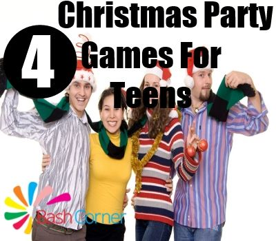 Fun Christmas Party Games For Teens Party games for school