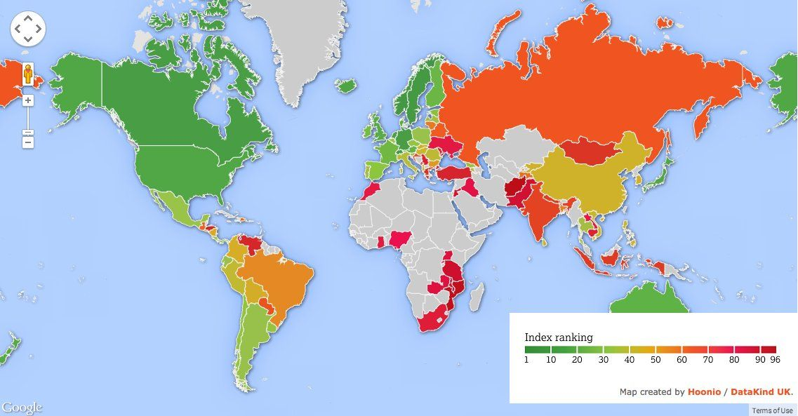 New Map Shows The Best Places In The World To Grow Old Map Best