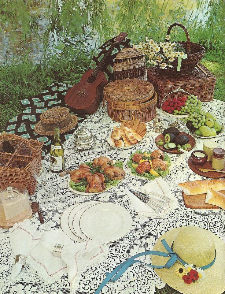 Lavish French country picnique #familypicnicfoods