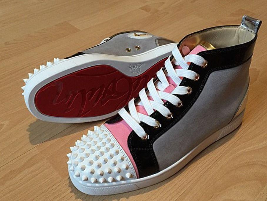 Christian Louboutin - Lou Spikes Men's Flat Shoes