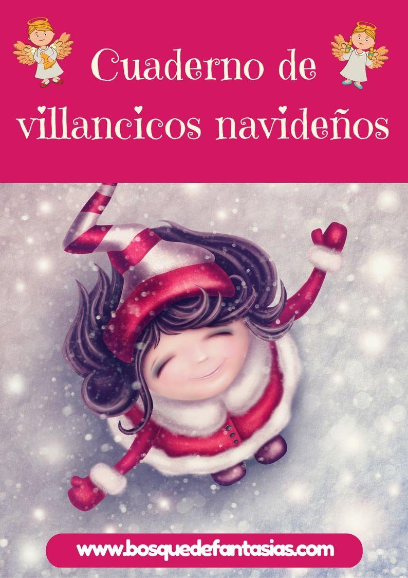 Cuaderno De Villancicos Y Canciones De Navidad Para Niños Villancicos Navideños Villancico Cancion De Navidad
