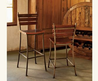 Repurpose And Reuse Barrel Stave Barstools Napastyle Com