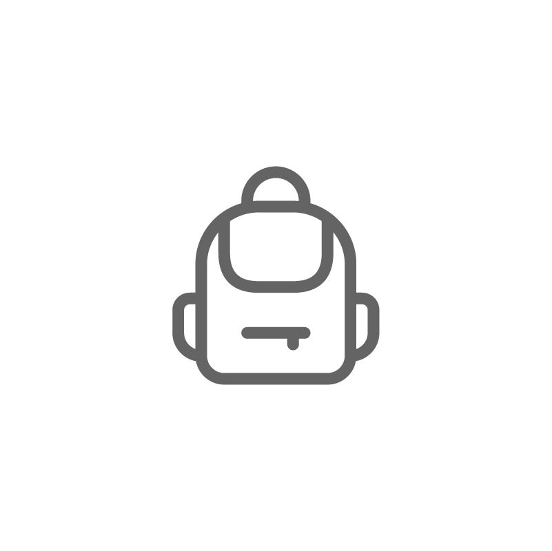 Backpack Bag School Rucksack Icon Download On Iconfinder School Icon Bag Icon Icon