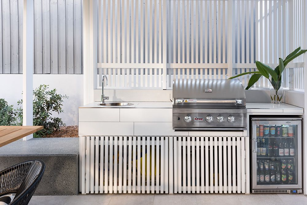 coorparoo renovation outdoor bbq queensland australia smith architects renovations on outdoor kitchen queensland id=75830