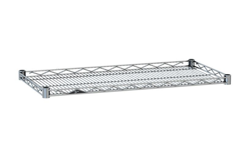 Drop Mat Wire Shelves Provide A 1 Ledge On All Four Sides Available In A Variety Of Finishes Unique Shelves Wire Shelving Shelving Systems