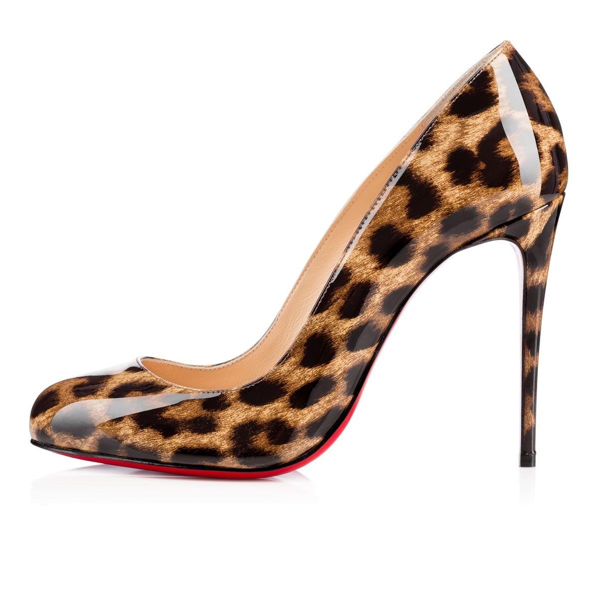 christian louboutin dorissima leopard