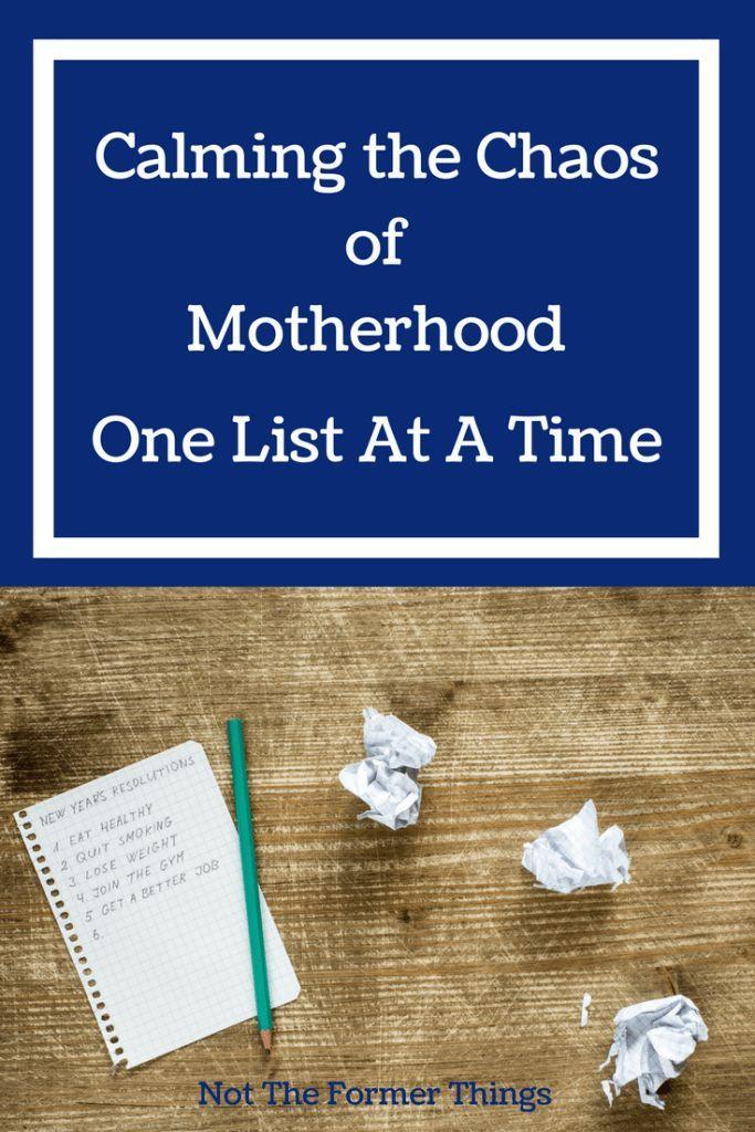 Calming The Chaos Of Motherhood #motherhood #momtips #homeschoolmom ...