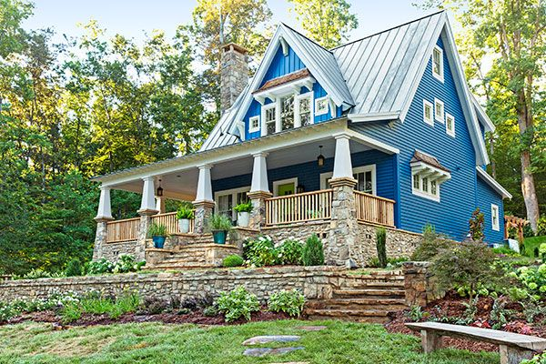 TOH Idea House   Love Everything About This!