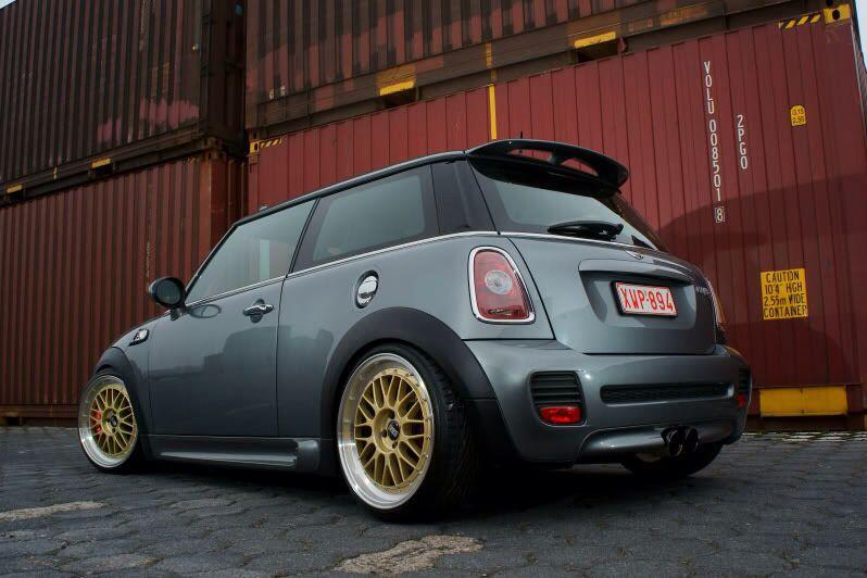 Mini Bbs Lm Gold Wheels Mini Bbs Wheels