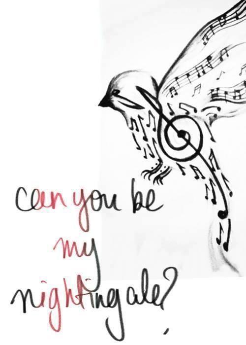 Nightingale Bird Nightingale Pinterest Nightingale Demi
