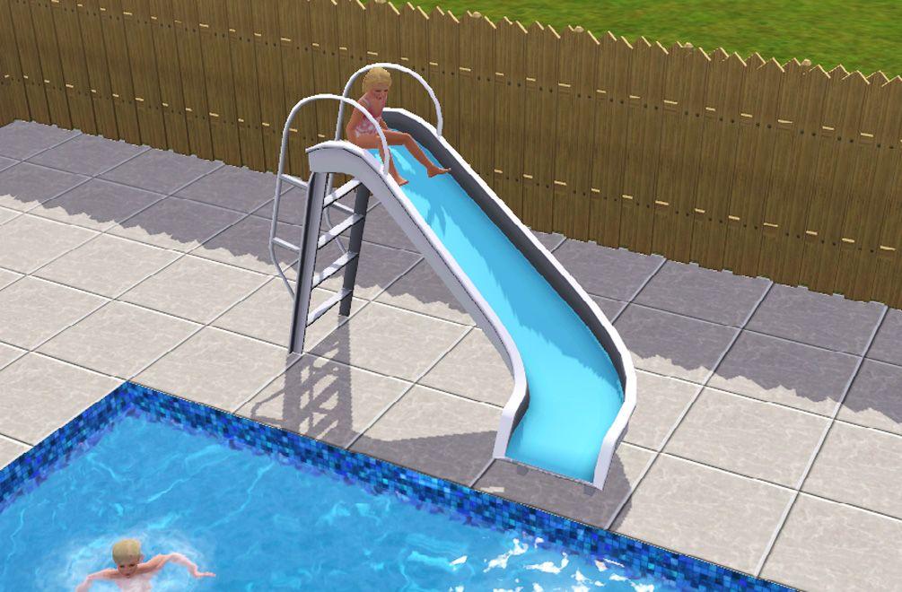 ModTheSims Pool Slide