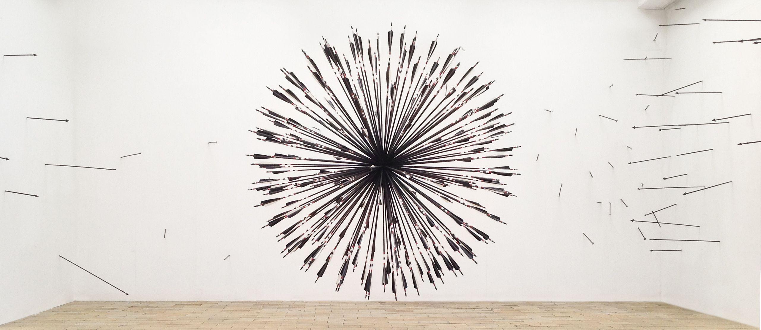 Morning Star By Karina Smigla Bobinski In Pfeilschaften Sculptural Installation With