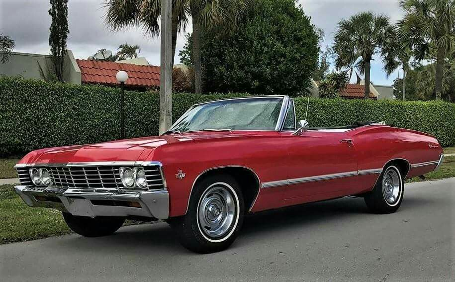 1967 Chevrolet Impala Convertible Chevy Impala Chevrolet Impala Chevrolet