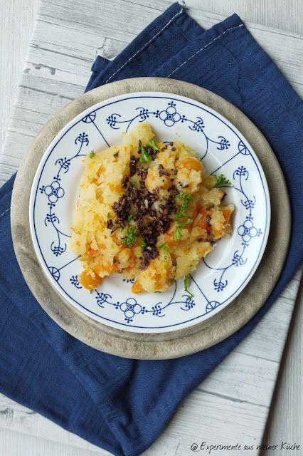 Kartoffel-Möhren-Stampf mit braunen Zwiebeln - experimente aus meiner küche