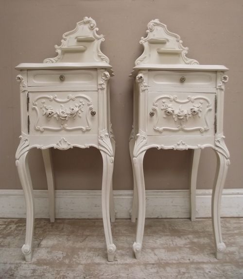 Wonderful antique french bedside tables for the home pinterest wonderful antique french bedside tables watchthetrailerfo